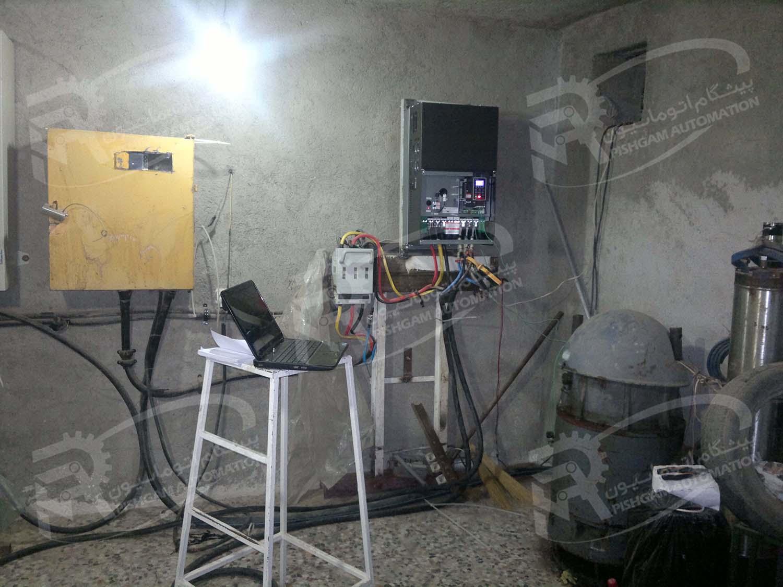 نصب اینورتر برای الکترو پمپ چاه کشاورزی و کنترل از راه دور