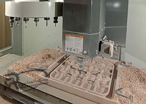 تعویض ابزار CNC